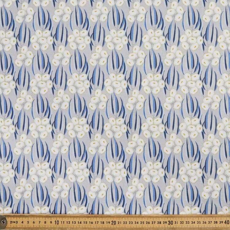 Jocelyn Proust Digital Tasmanian Blue Gum Cotton Fabric