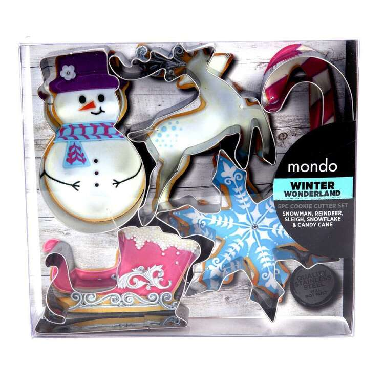 Mondo Winter Wonderland Cookie Cutter Set