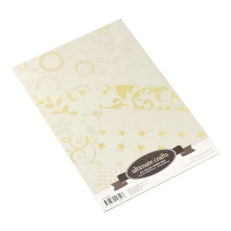 Couture Creations A4 Foiled Paper Pad