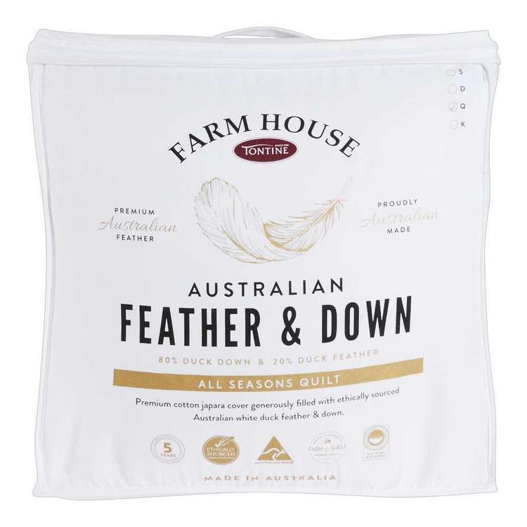 Tontine Farm House Australian Feather & Down Quilt