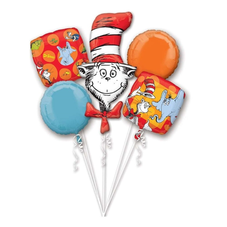 Anagram Dr Seuss Balloon Bouquet
