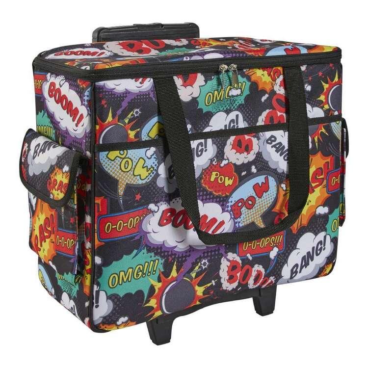 Semco Boom Printed Trolley Bag