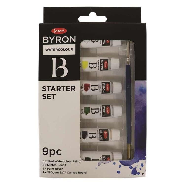 Jasart Byron Watercolour Starter Set 9 Pack