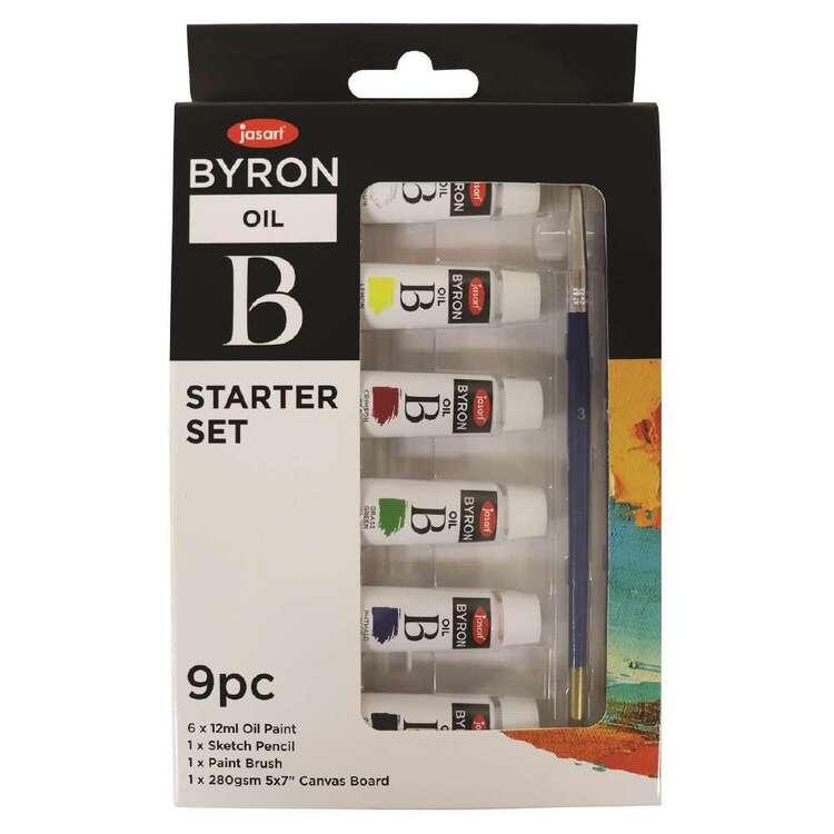 Jasart Byron 9 Pack Oil Starter Set