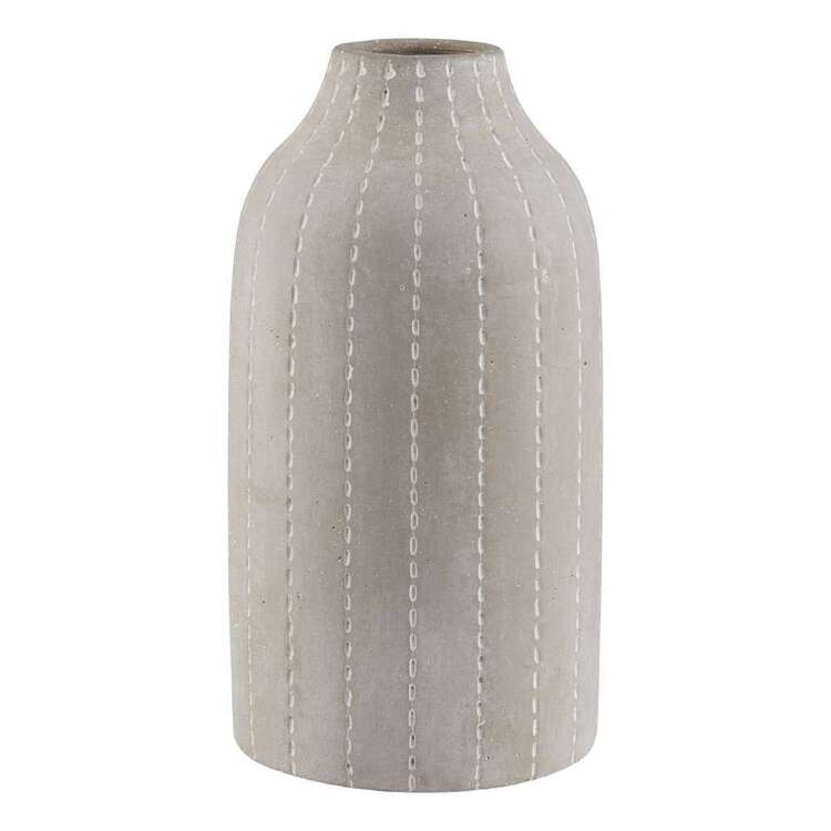 Bouclair Nomad Way Cement Vase With Dots