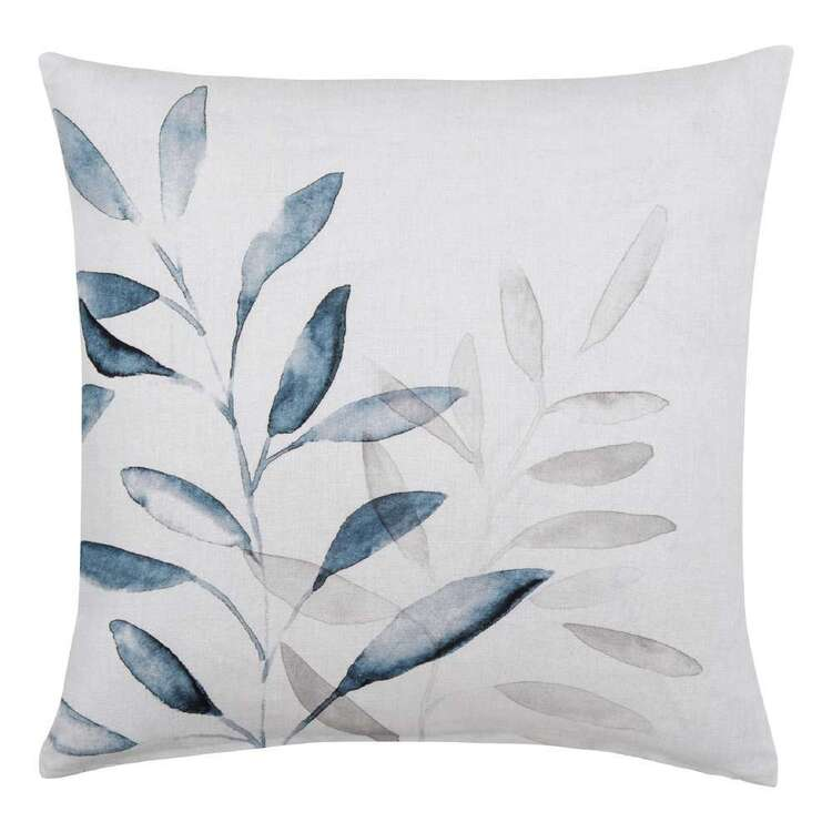 Bouclair Nomad Way Jed Printed Cushion Blue 45 x 45 cm