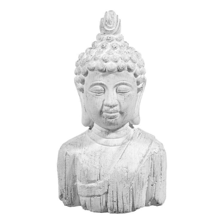 Bouclair Nomad Way 14 x 26 cm Cement Buddha