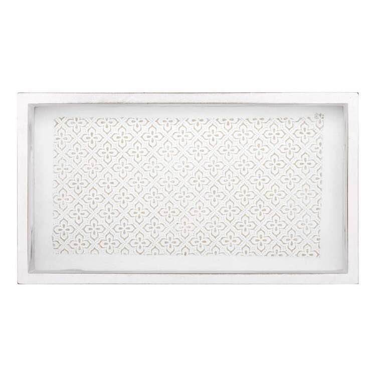 Bouclair Nomad Way Rectangle Washed Tray