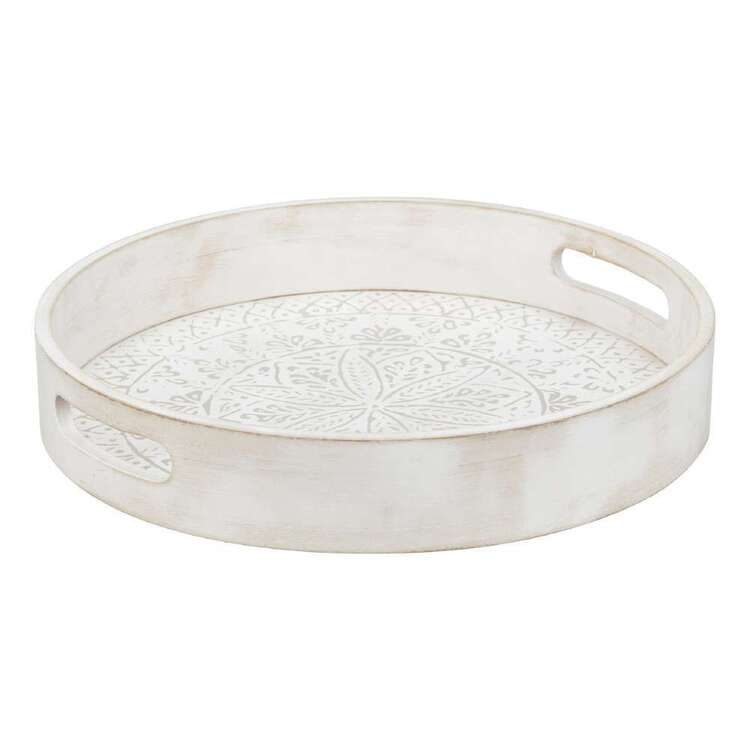 Bouclair Nomad Way Round Tray