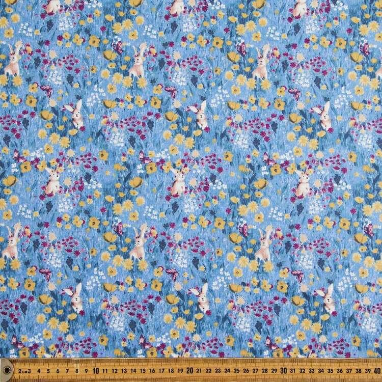Bunnyfield Printed 112 cm Japanese Poplin Fabric