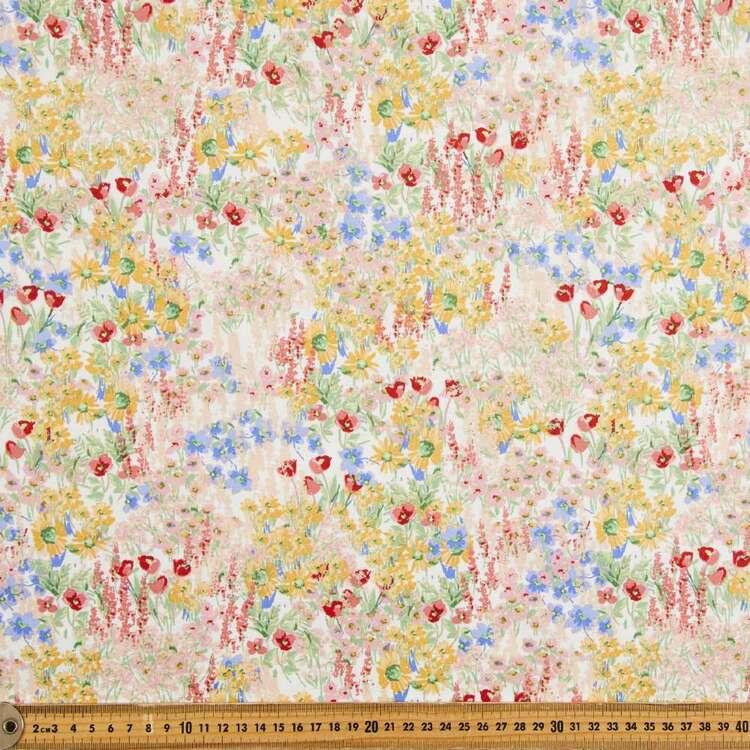 Secret Garden Printed 112 cm Japanese Poplin Fabric