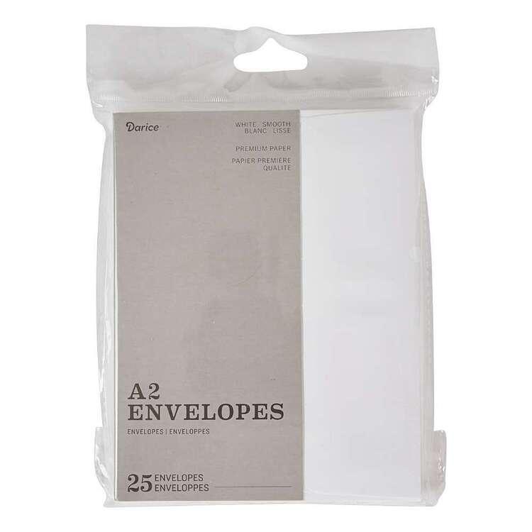 Darice 25 Pack A2 Premium Paper Envelope