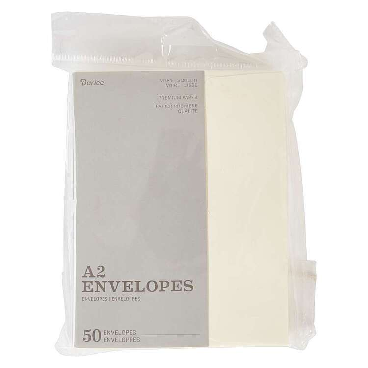 Darice A7 50 Pack Premium Paper Envelopes