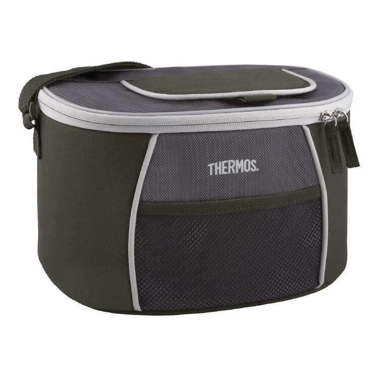 Thermos 12 Can E5 Cooler Bag Grey & Green