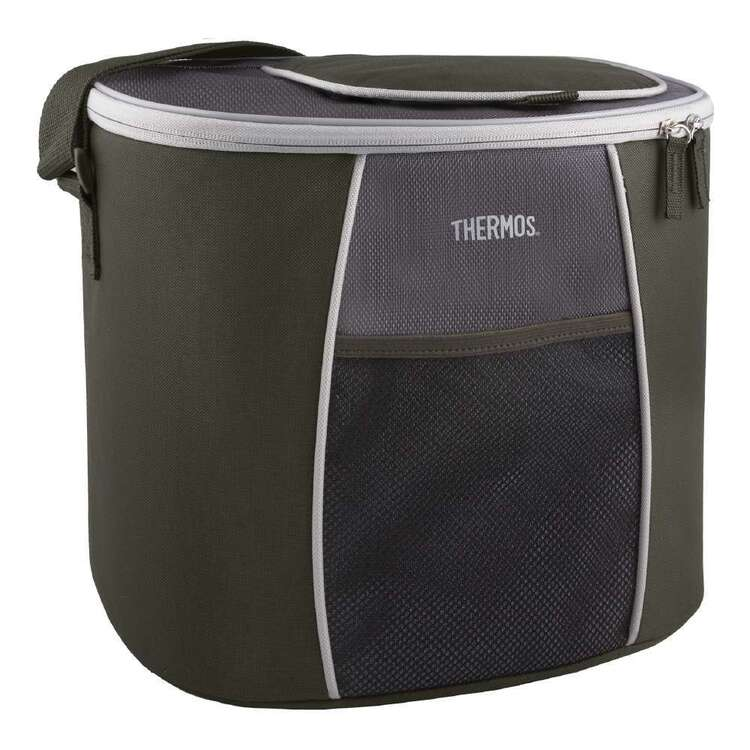 Thermos 24 Can E5 Cooler Bag Grey & Green