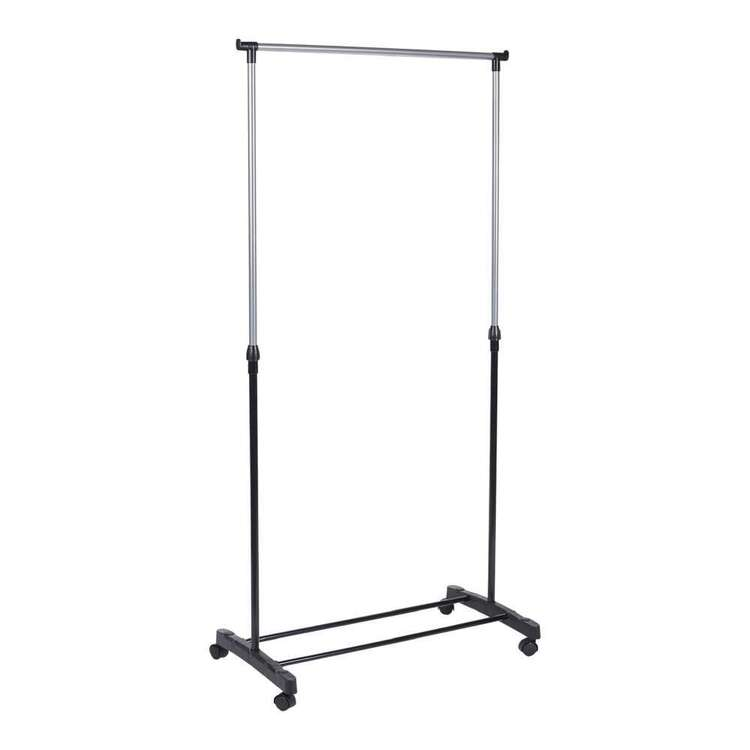 Living Space Single Garment Rack With Wheels