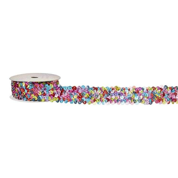 Rainbow Sequin Elastic # 2