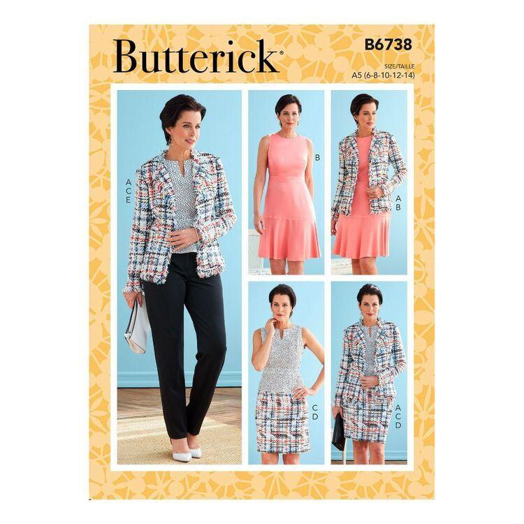 Butterick Sewing Pattern B6738 Misses' Jacket, Dress, Top, Skirt & Pants
