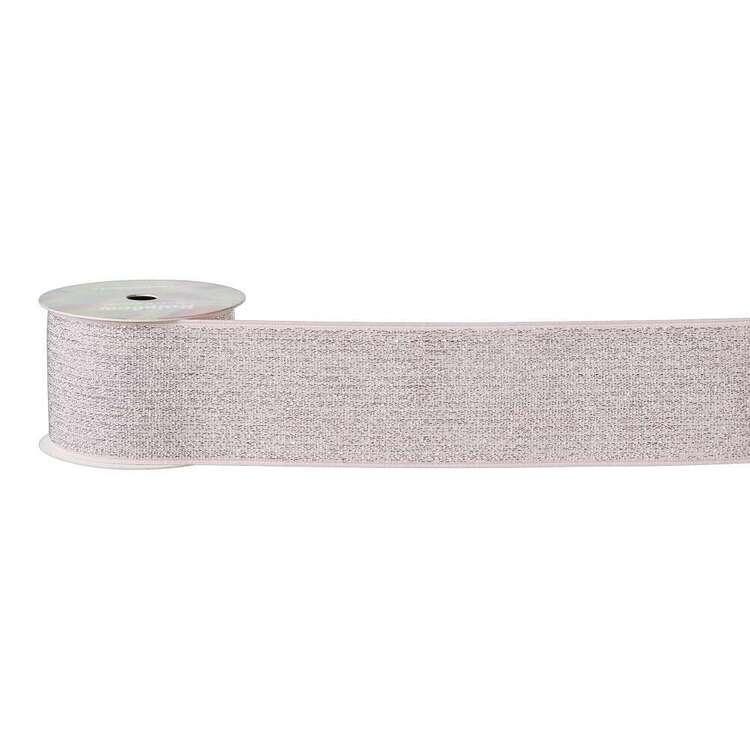 Wide Glitter Elastic Roll
