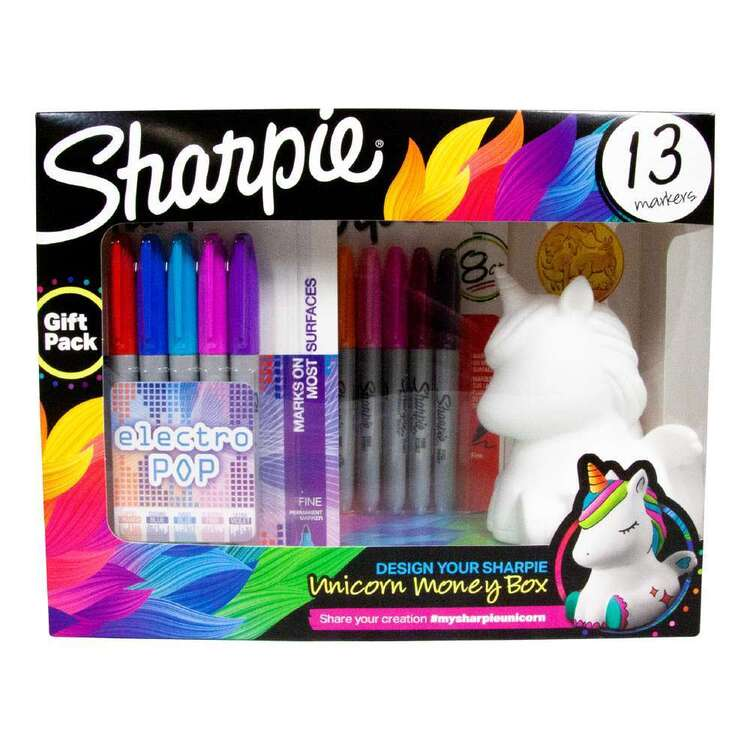 Sharpie 13 Markers Unicorn Gift Pack
