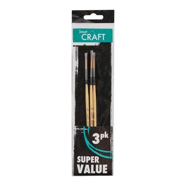 Jasart Craft 3 Pack #10 Brush Set