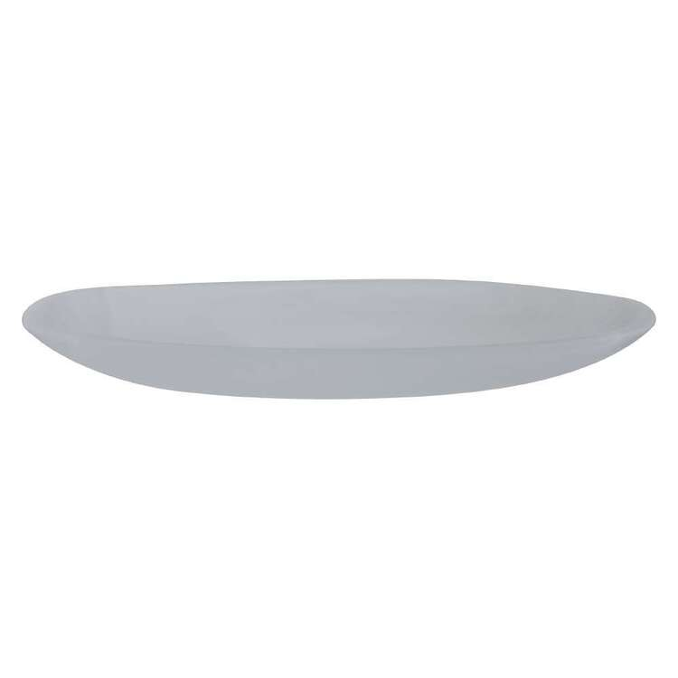 Dine By Ladelle Bodhi Medium Glass Oval Plate