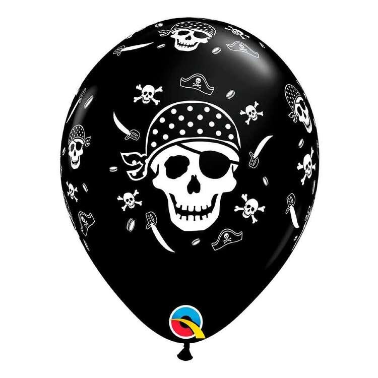 Qualatex Pirate Skull & Bones Latex Balloon