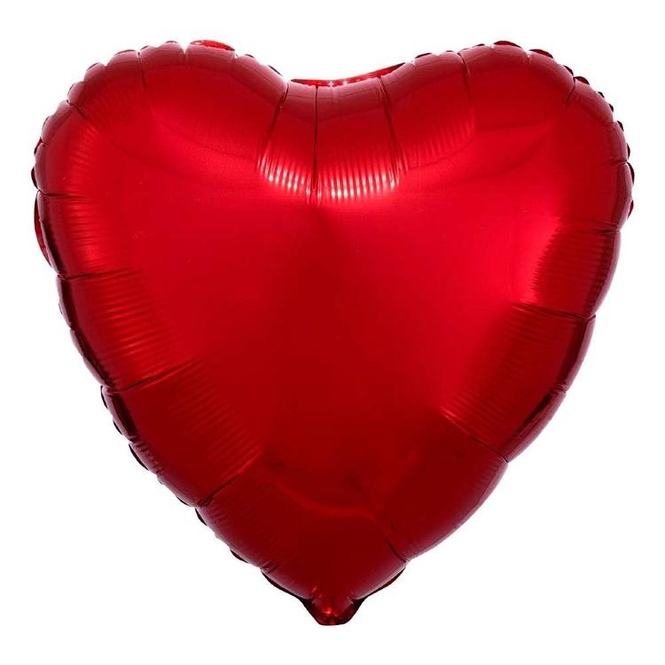 Anagram Heart Foil Balloon