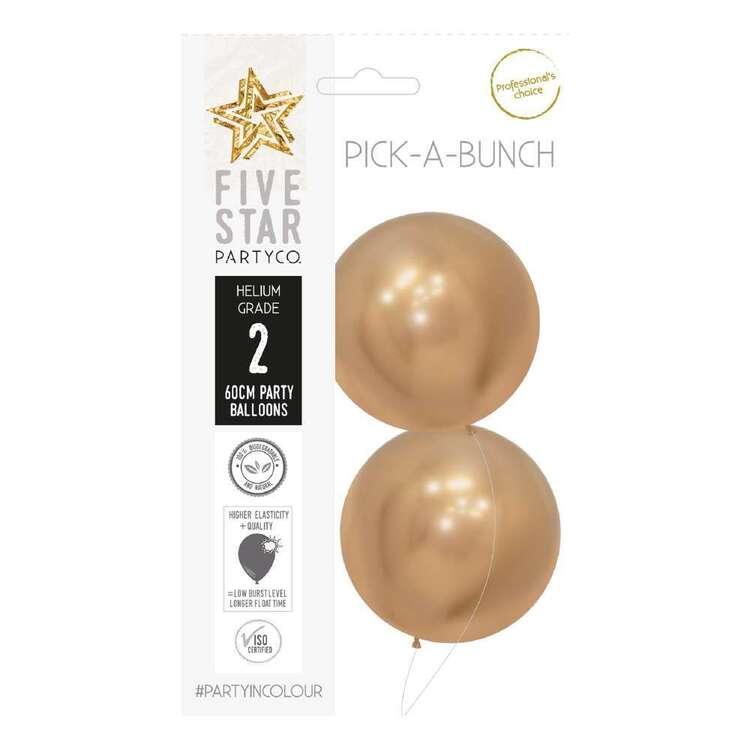 Five Star Reflex Round Balloon 2 Pack