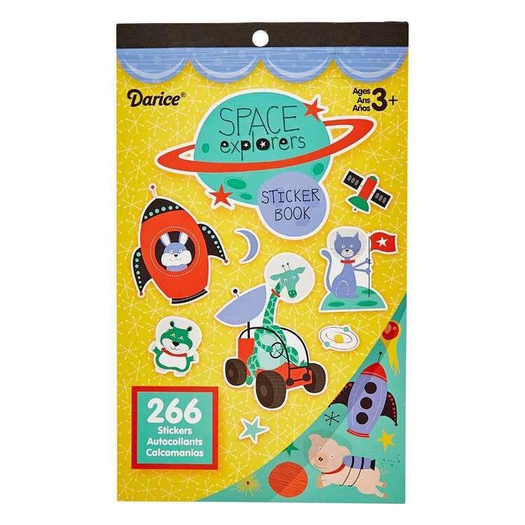 Darice 266 Pieces Space Explorers Sticker Book