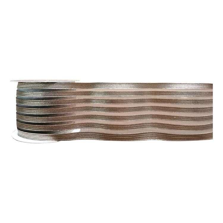 Gold Metallic Elastic # 7