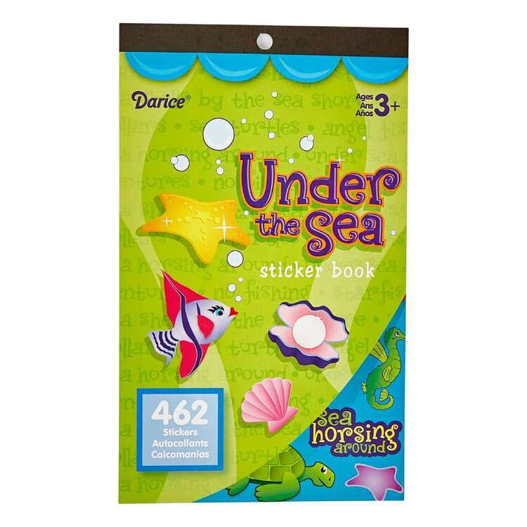 Darice Under The Sea Sticker Book