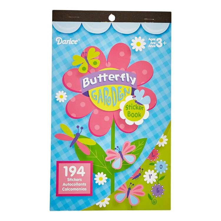 Darice Butterfly Garden Sticker Book