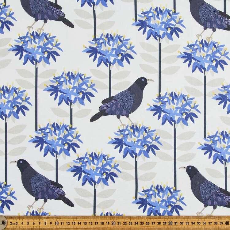 Jocelyn Proust Satin Bowerbird Printed Cotton Canvas