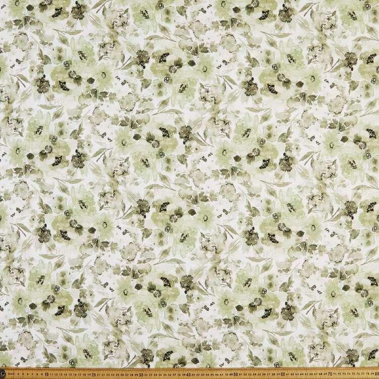 Bloom 150 cm Classic Cotton Linen Fabric