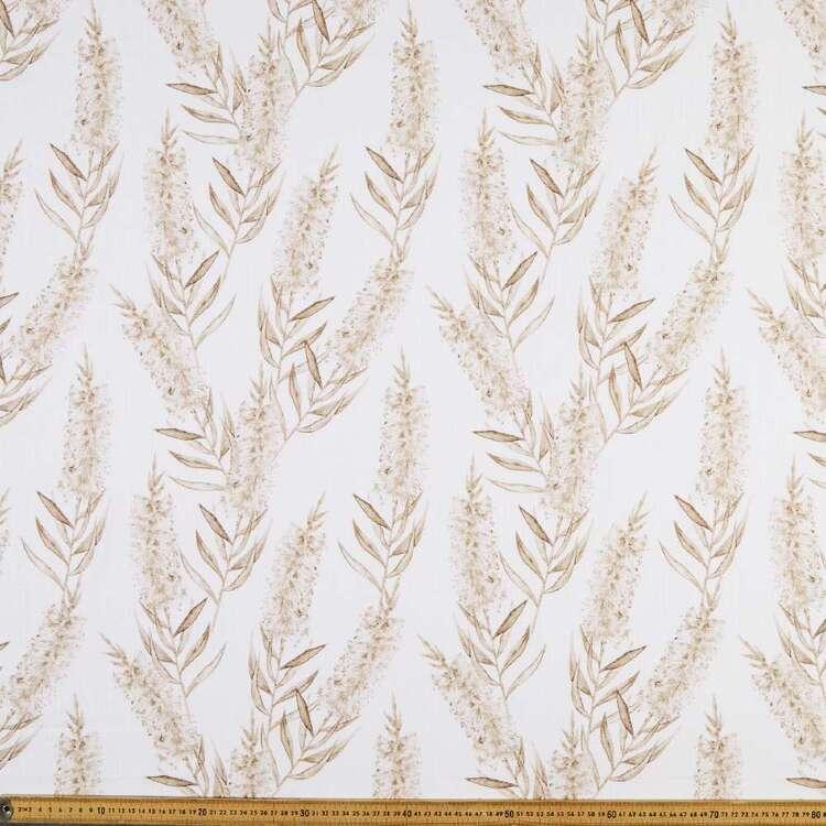 Native Bottlebrush 150 Cotton Slub Fabric
