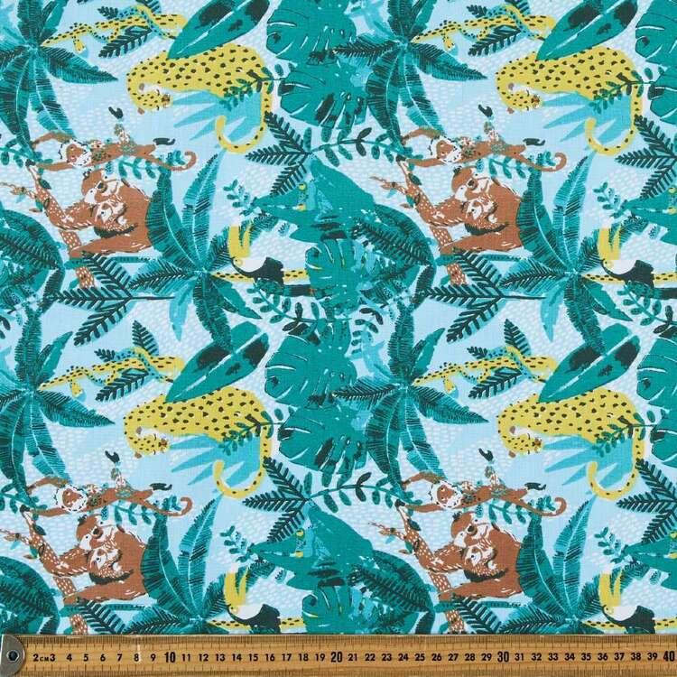 Jungle 120 cm Multipurpose Cotton Fabric