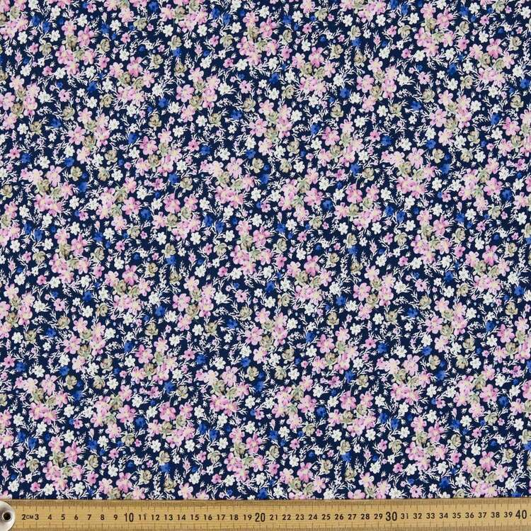 Ditsy Floral Printed 148 cm Rayon Spandex Jersey Fabric