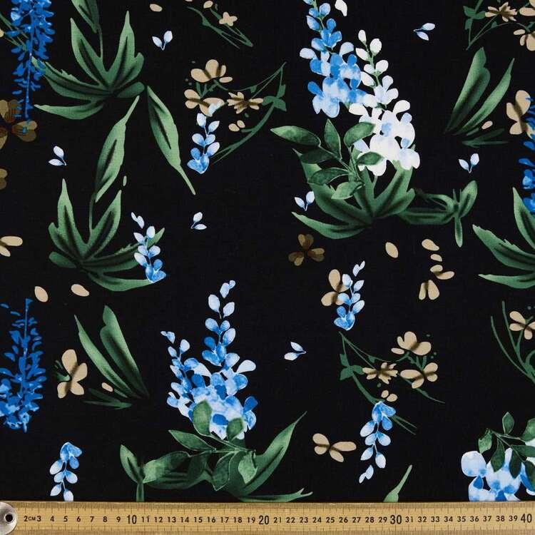 Wisteria Printed 148 cm Rayon Spandex Jersey Fabric