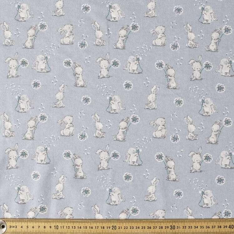 Dlion Buddies Printed 112 cm Flannelette Fabric