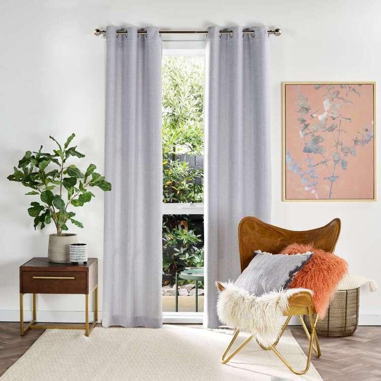 Brampton House Serenity Triple Weave Eyelet Curtains