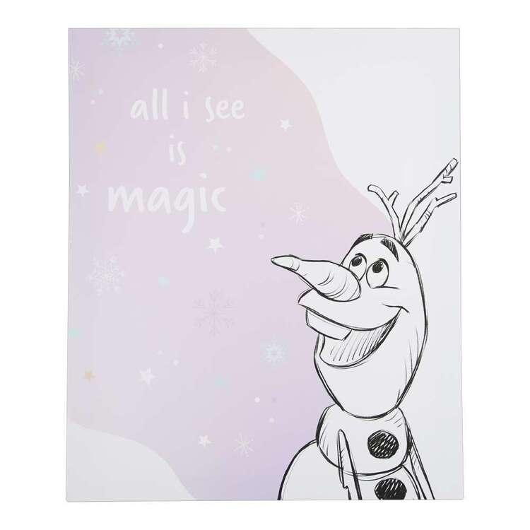 Tag Magic Frozen Canvas Print