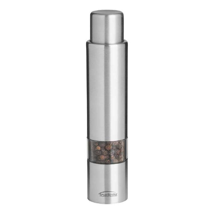 Trudeau Stainless Steel Pepper Mill