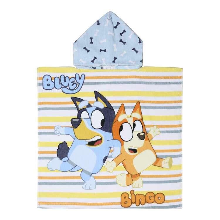 Bluey & Bingo Hooded Towel