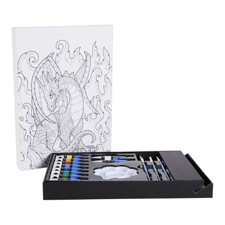 Francheville Dragon 14 Pieces Acrylic Paint Set