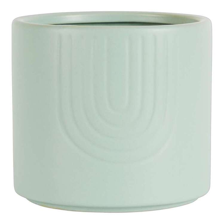 Living Space 14 x 12.5 cm Round Planter Pot
