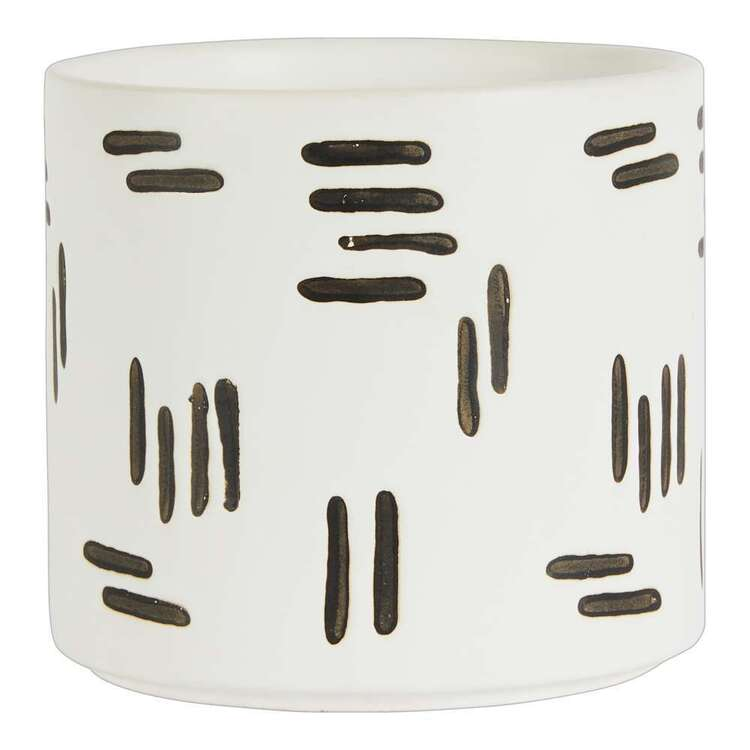 Living Space Cocoon Comfort 14 x 12.5 cm Round Planter Pot