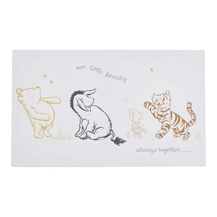 Tag Winne The Pooh Family Canvas Print