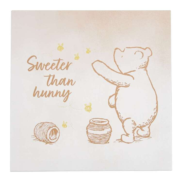 Tag Winne The Pooh Honey Canvas Print