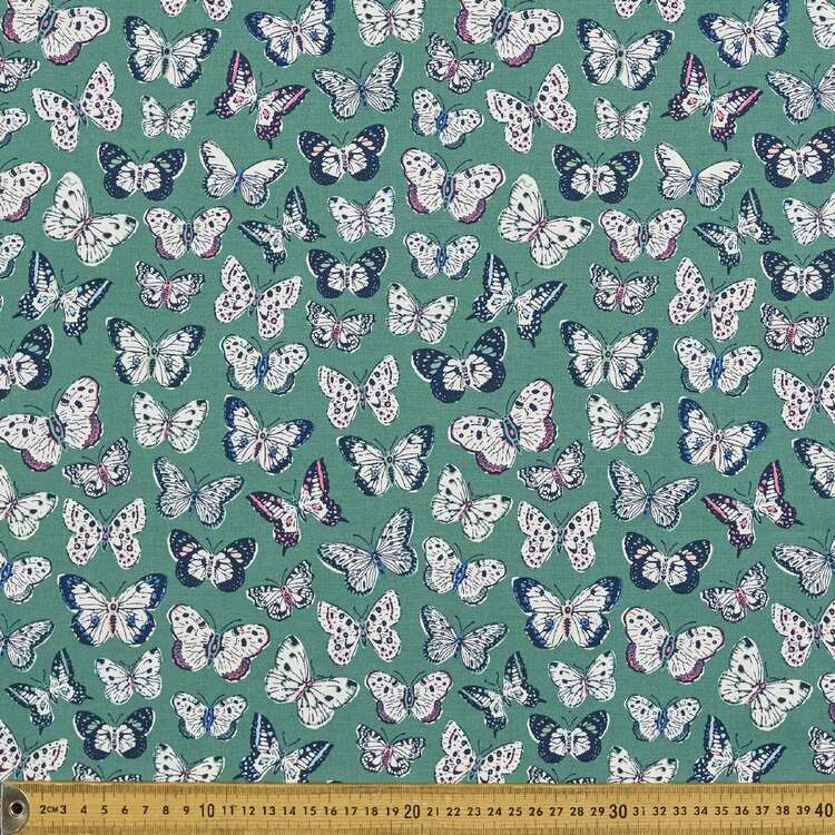Cloud 9 Perennial Monarch Cotton Fabric